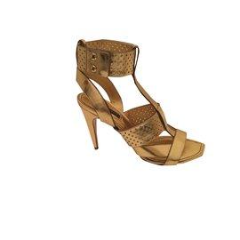 Louis Vuitton-sandales gladiateur-Doré