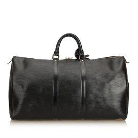Louis Vuitton-Et Keepall 50-Noir