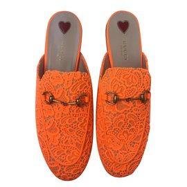Gucci-Mules-Orange
