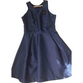 Maje-Dress-Blue
