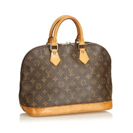 482066bd55aa ... Louis Vuitton-Monogramme Alma PM-Marron