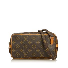 33a7e2476b84 Louis Vuitton-Monogram Marly Bandouliere-Marron ...