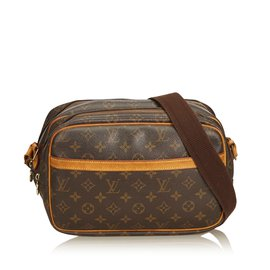5dfb4859f8c9 Louis Vuitton-Monogramme Reporter PM-Marron ...