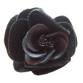 Chanel-Camellia model.-Black