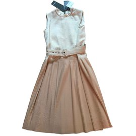 Moncler-dress-Beige,Cream