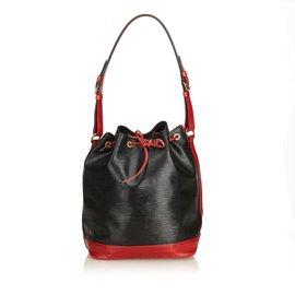 Louis Vuitton-Epi Bicolor Quelque chose-Noir,Rouge