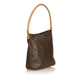 Louis Vuitton-Monogramme en boucle GM-Marron