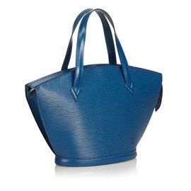 Louis Vuitton-Epi Saint Jacques PM Short Strap-Bleu