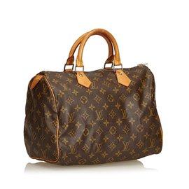 Louis Vuitton-Monogramme speedy 30-Marron