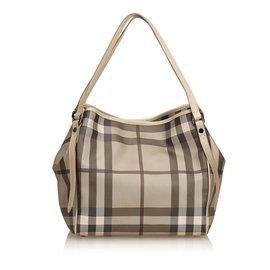 Burberry-Plaid Shoulder Bag-Multiple colors,Grey
