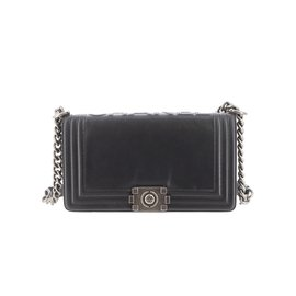 Chanel-Sac Boy-Noir