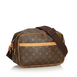 Louis Vuitton-Monogramme Reporter PM-Marron