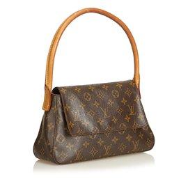 Louis Vuitton-Monogramme en boucle Mini-Marron