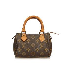 Louis Vuitton-Monogramme Mini Rapide-Marron