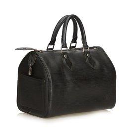 Louis Vuitton-Epi Speedy 30-Noir