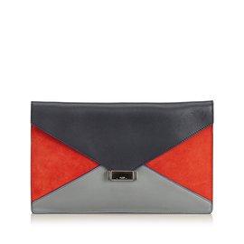 Céline-Diamond Clutch-Black,Multiple colors