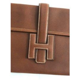 Hermès-Jige Elan-Chestnut