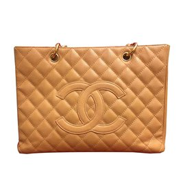 Chanel-Grand shopping Tote-Beige