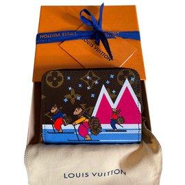 Louis Vuitton-Portefeuille Zippy-Marron