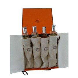 Hermès-HERMESSENCE - Set of 4 Hermès selection travel Eau de Toilette-Orange