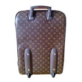 Louis Vuitton-PEGASE LÉGÈRE 55 valigia-Brown