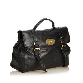 Mulberry-Leather Alexa-Black