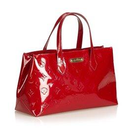 Louis Vuitton-Vernis Wilshire PM-Rouge