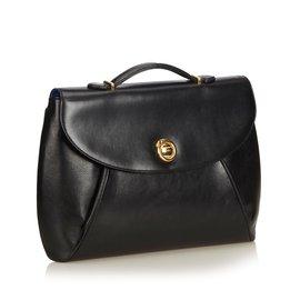 Cartier-Sacoche en cuir-Noir