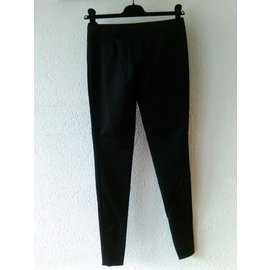 Gucci-Pantalon skinny en coton stretch.-Noir
