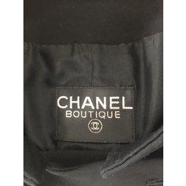 Chanel-Vestes-Noir,Doré