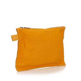 Hermès-Bora Bora Zip Pouch-Orange