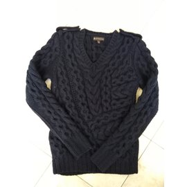 Burberry-Pull over-Navy blue