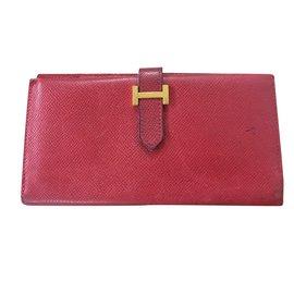 Hermès-Béarn-Red