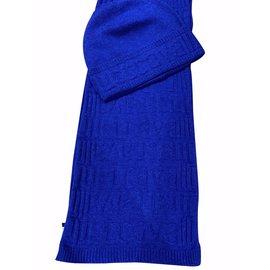 Just Cavalli-BONNET # ECHARPE-Bleu