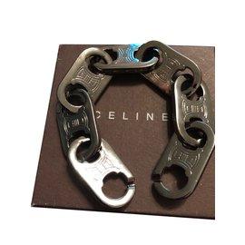 Céline-Bracelet gourmette-Gris anthracite