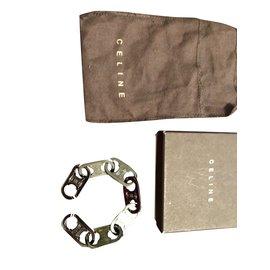 Céline-gourmette bracelet-Dark grey