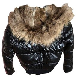 Moncler-down jacket-Black