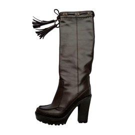 95c296300c4 Second hand Yves Saint Laurent Boots - Joli Closet