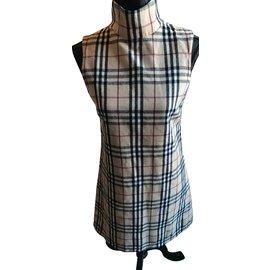 Burberry-dress-Beige