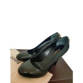 Louis Vuitton-Escarpins modèle Oh really-Noir,Cuivre