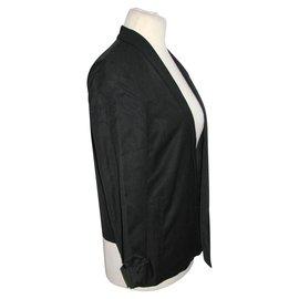 Costume National-Blazer in black and white-Black,White