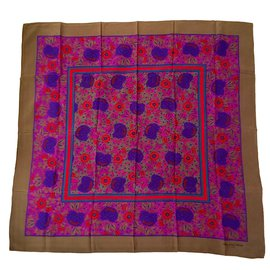 Balenciaga-BB 85x80 cm Silk-Multiple colors
