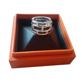 Hermès-Arcane Ring-Silvery