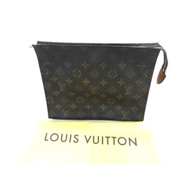 745bd5fdedee Louis Vuitton-TROUSSE DE TOILETTE 26 MONOGRAM-Marron .