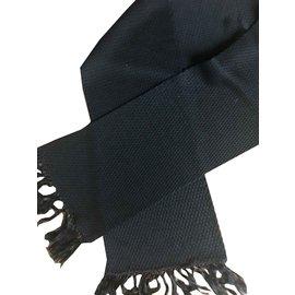 Dior-Men Scarves-Black
