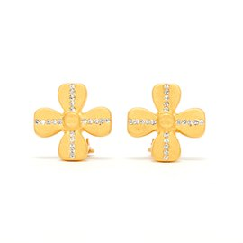 Chanel-DIAMOND CLOVER SET-Golden