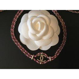 Chanel-choker-Pink