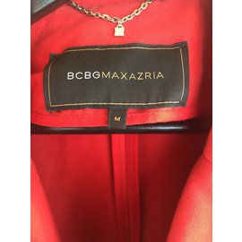 Bcbg Max Azria-Trench-Rouge
