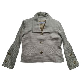Givenchy-Jackets-Beige