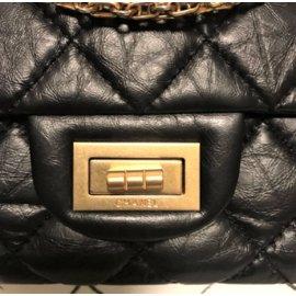 Chanel-2.55 Reissue 227-Black